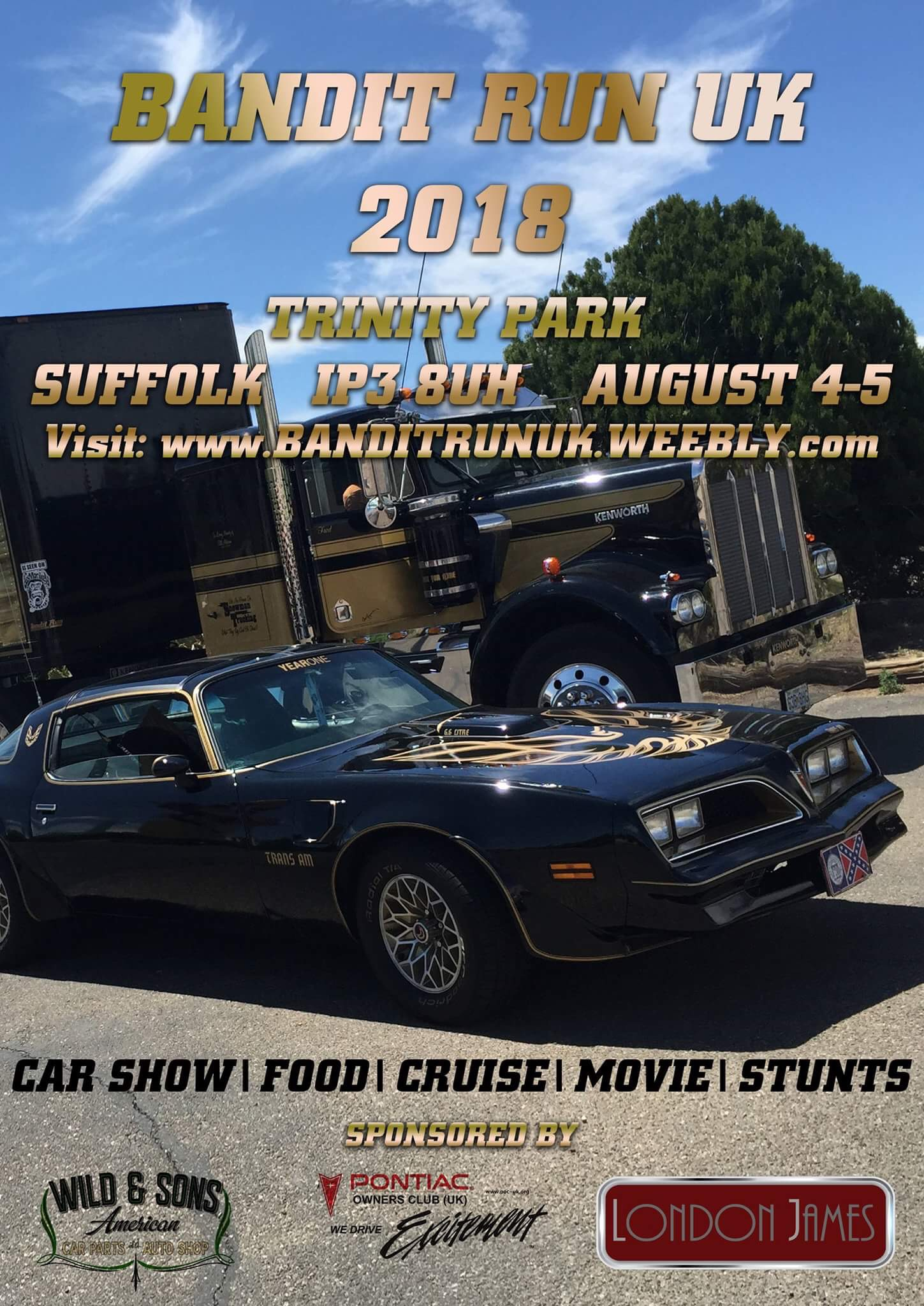 Events - Pontiac Owners Club UK