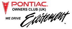 Pontiac Owners Club UK We Drive Excitement